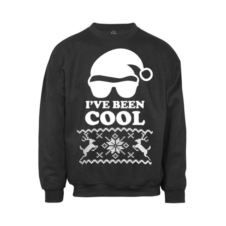 Mens 3x Ugly Christmas Sweater.Mens I Ve Been Cool Ugly Christmas Ugly Sweatshirt Green 4x Large