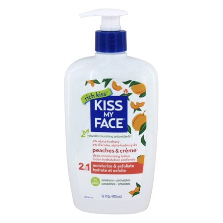 Kiss My Face Peaches and Creme Ultra Moisturizer