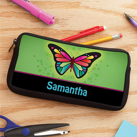 Personalized Butterfly Pencil Case - Personalized Pencil Case