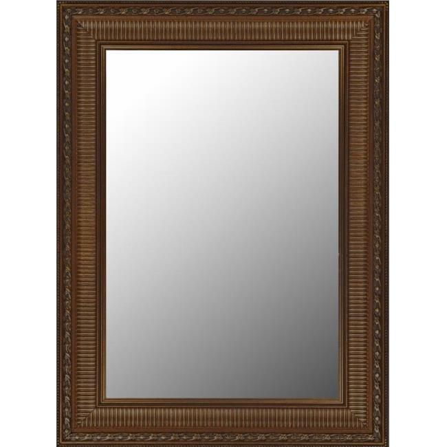 2nd Look Mirrors 270300 31x41 Regal Copper and Gold Accents Mirror by 2nd Look Mirrors