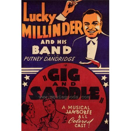 Posterazzi MOVGF0341 Gig & Saddle Movie Poster - 27 x 40 in. - image 1 of 1