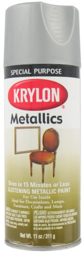 Krylon 1403 Dull Aluminum Metallic Paint - 11 oz. Aerosol