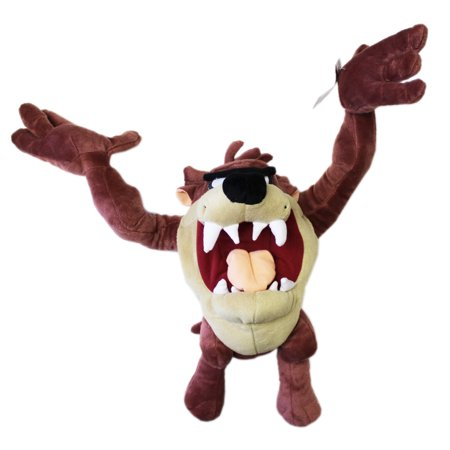 Looney Tunes Taz Tasmanian (Looney Tunes Taz the Tasmanian Devil Medium Size Plush (14in) )