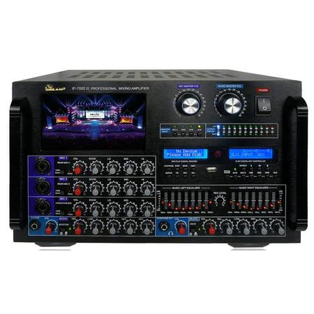 IDOLmain IP-7000 II 8000W Professional Digital Console Mixing Karaoke - Professional Karaoke Mixing Amplifier