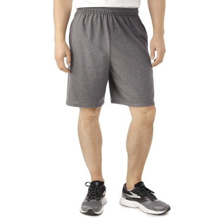 - Fruit of the Loom Men's Jersey Shorts with Side Pockets
