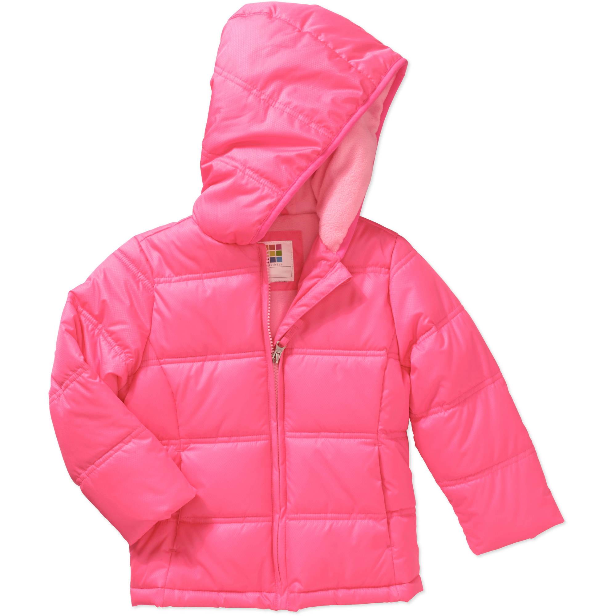 Healthtex Baby Toddler Girls' Bubble Puffer Jacket