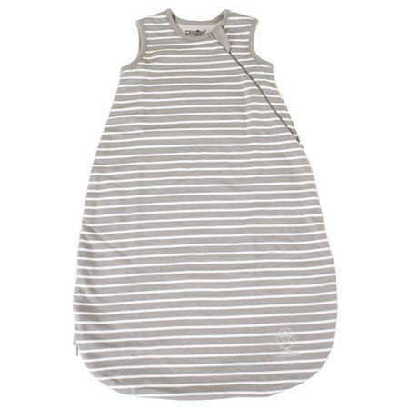 Woolino Wearable Blanket, 4 Season Basic Baby Sleep Bag or Sack, Merino Wool, 6-18m, Earth Baby Sleeping Sack Bag