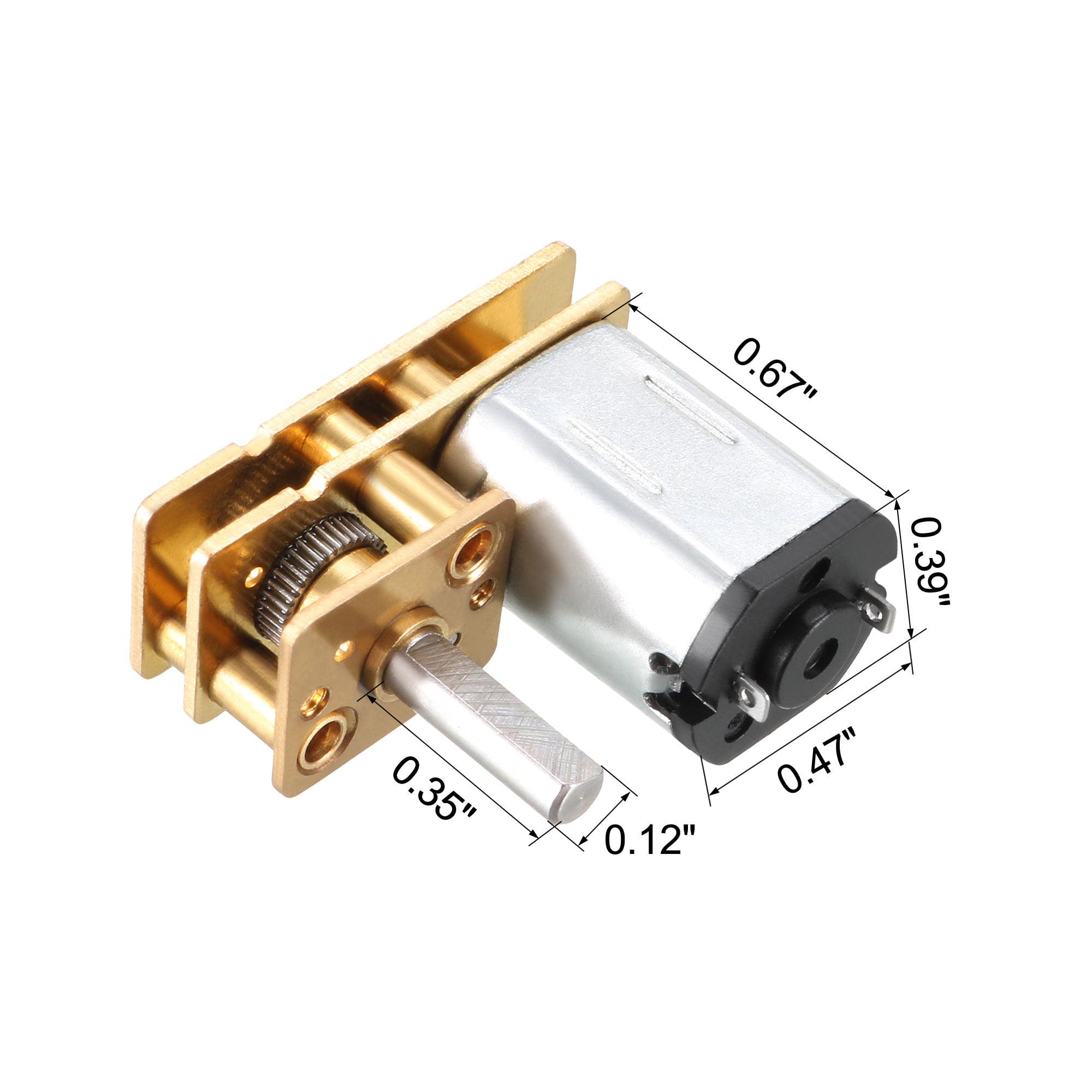 DC 12V 1000RPM Mini Motor Gear Box Motor for RC Car Robot Model DIY Engine  Toy