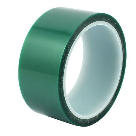 42mm Width 33M Length Green PET Self Adhesive Tape High Temp Heat Resistant