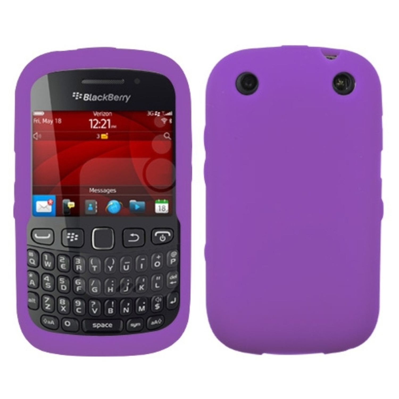 Insten Solid Skin Case (Electric Purple) For BLACKBERRY 9310 Curve