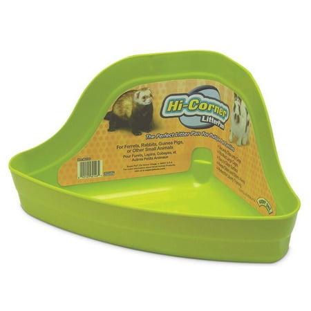 - Super Pet Ferret Hi Corner Litter Pan