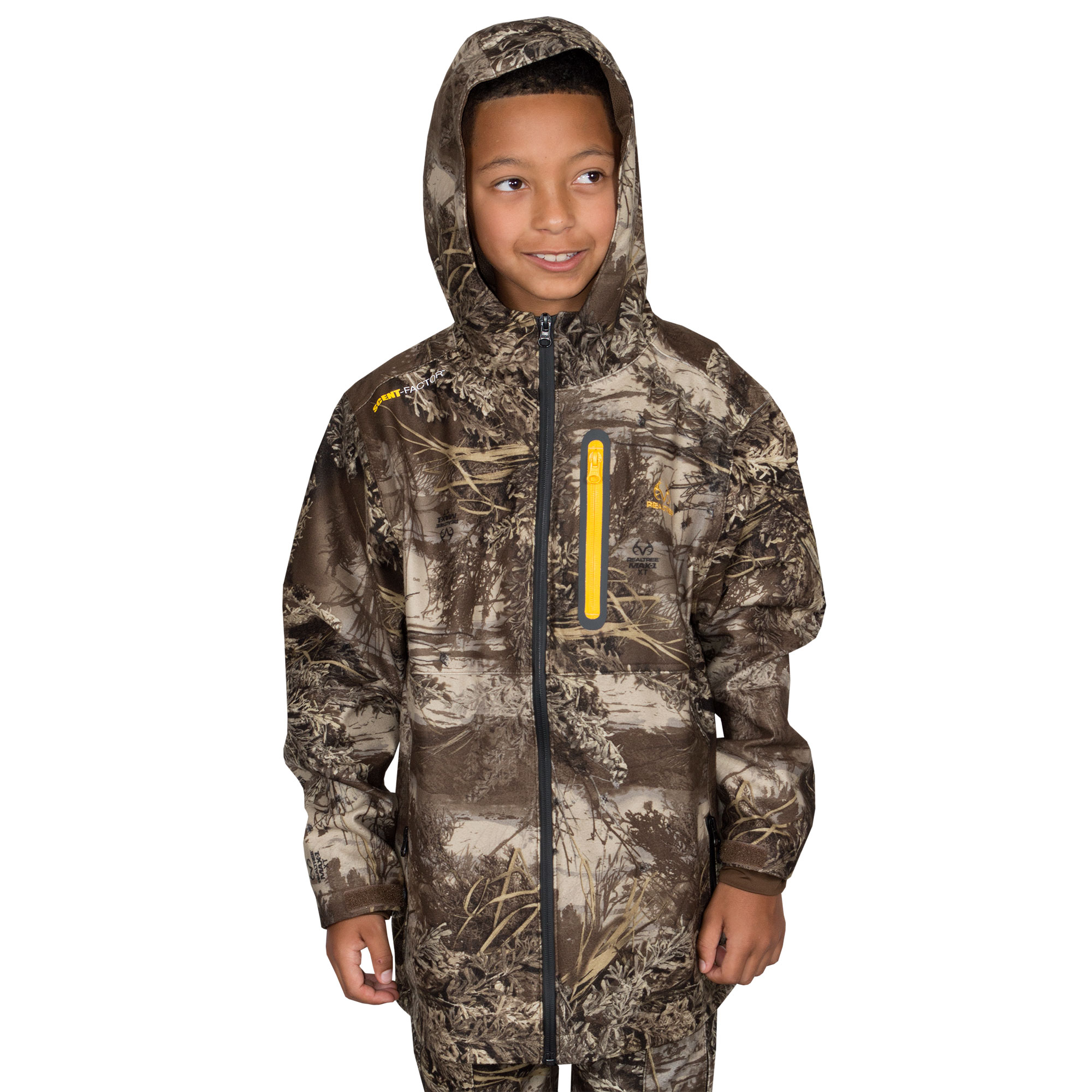 Youth Scent Control Jacket Realtree Max 1 Xtra by Mahco Inc