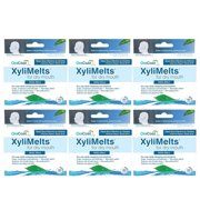 6 Pack OraCoat XyliMelts Mild-Mint for Dry Mouth 40 Discs Each