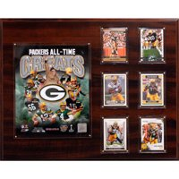 C&I Collectables NFL 16x20 Green Bay Packers All-time Great Photo Plaque