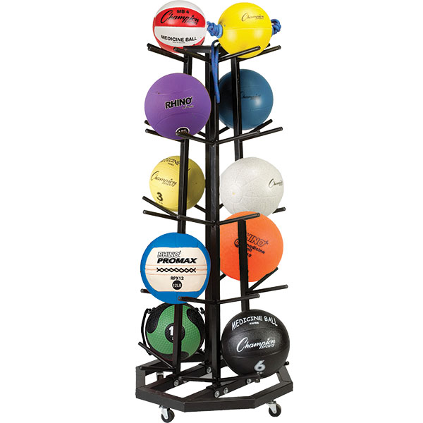 Deluxe Medicine Ball Tree by Champion Sports