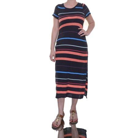 Free People Black Combo Dress Short Sleeve Size Xs Nwt   Movaz
