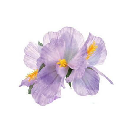 New Purple Adult Luau Hawaiian Flower Hibiscus Costume Accessory Hair - Hawaiian Clip Art