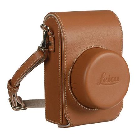 Leica Leather Camera Jacket Case for D-Lux Typ 109 Digital Camera, Cognac