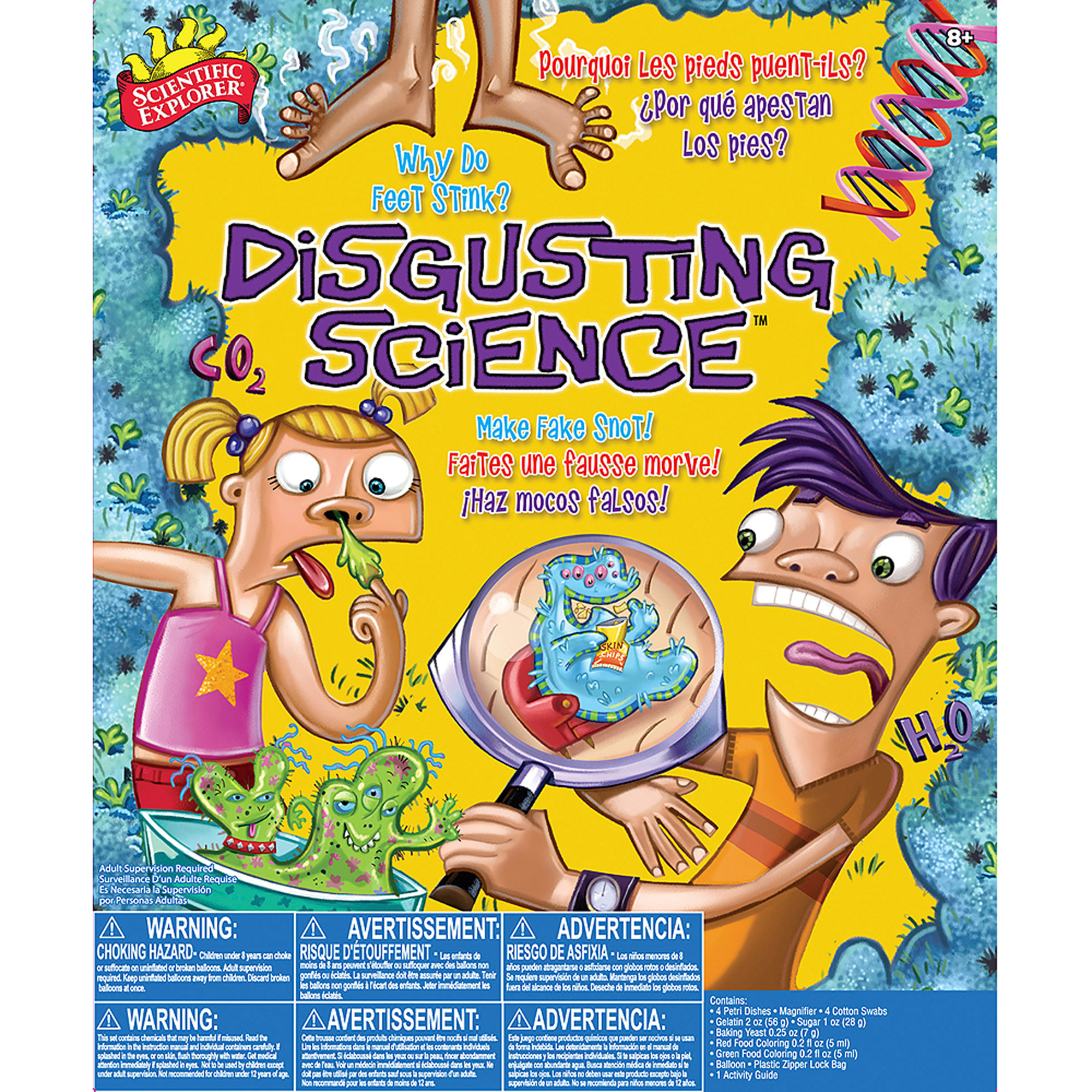 Scientific Explorer Disgusting Science Kit