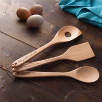 For Her Personalized 3-Piece Wood Utensil Set