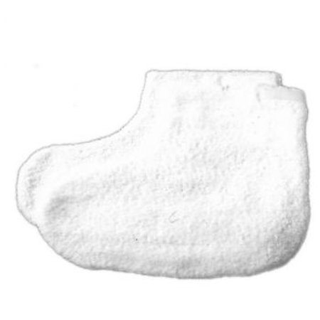Parabath Paraffin Heat System and Accessories, Cotton Booties, 1 Pair