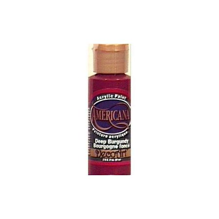 Americana acrylic paint 2 ounces deep burgundy - Deep burgundy paint color ...