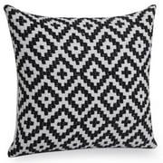 Jovi Home  Modena Hand-woven 20-inch Decorative Pillow Cover