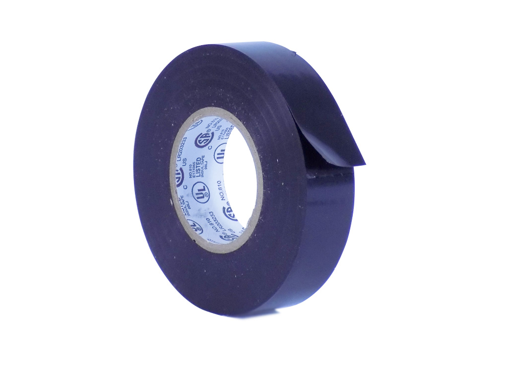 x 66 Ft. rated up to 600V and 176F WOD EL7566-AW Premium Grade General Purpose Rubber Adhesive Black PVC Electrical Tape UL//CSA//CE Listed Core : 1 in Pack of 1 Available in Multiple Sizes