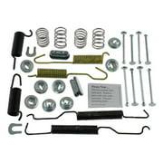 Carlson H7129 Drum Brake Hardware Kit, Rear, Front