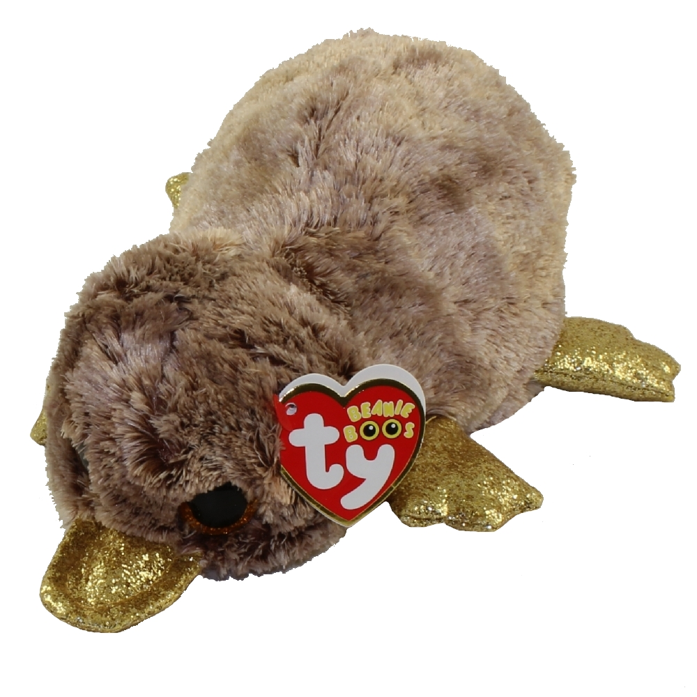 OFFICIAL TY BEANIE BABIES BOOS WILMA PLATYPUS PLUSH SOFT TOY NEW WITH TAGS