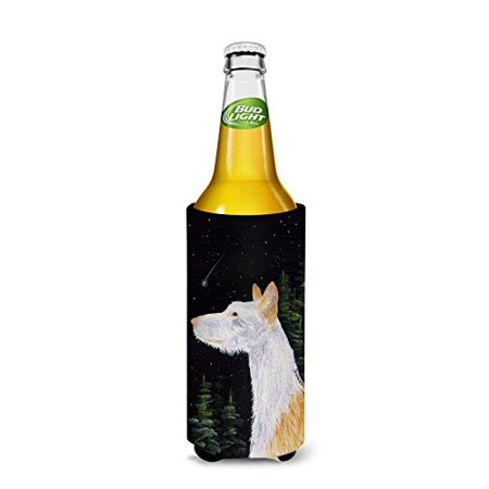 Carolines Treasures SS8499MUK Starry Night Ibizan Hound Michelob Ultra bottle sleeves For Slim Cans - 12 oz. - image 1 de 2