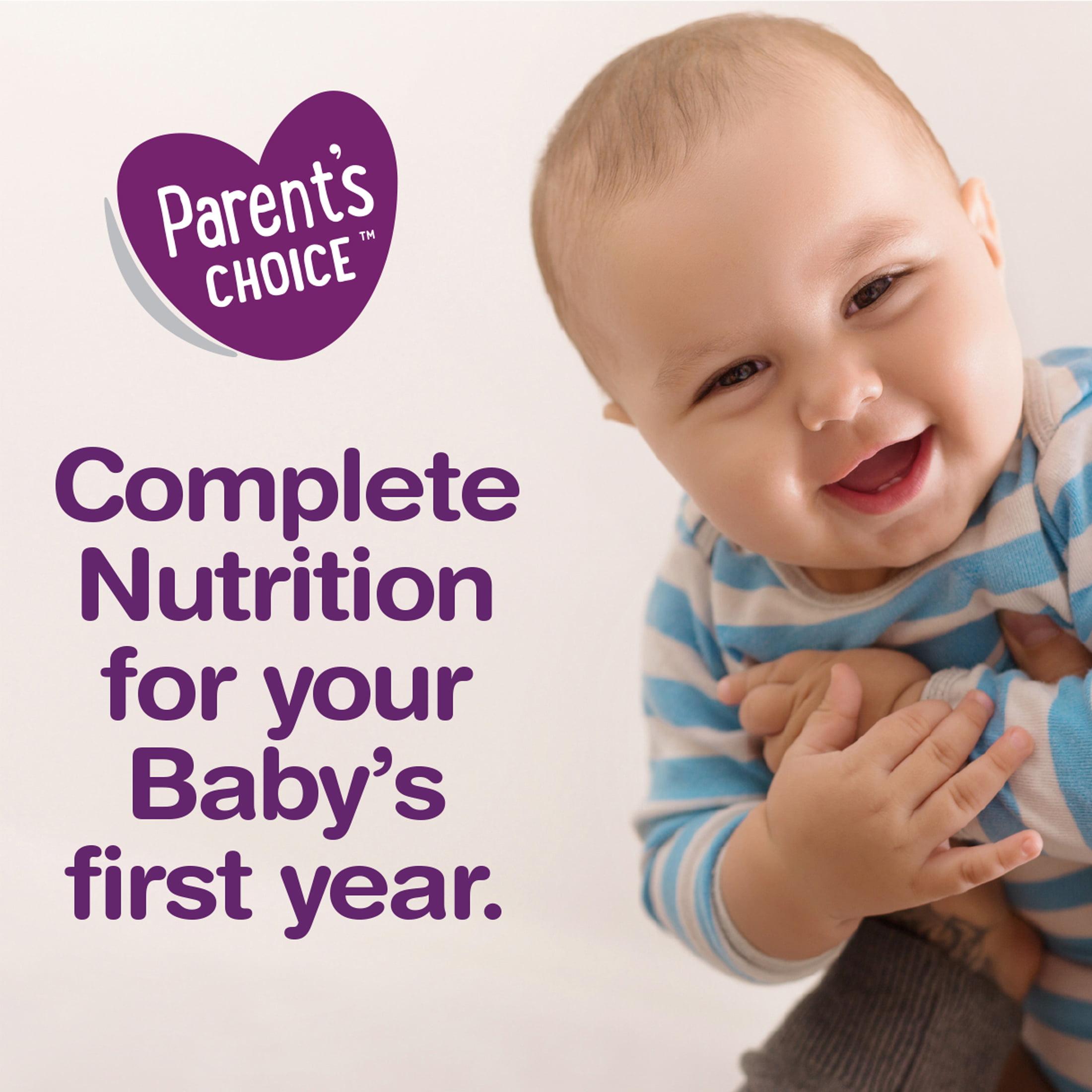 Parent S Choice Gentle Powder Baby Formula 34 Oz Canister 4 Non Gmo Milk Based With Iron Walmart Com Walmart Com