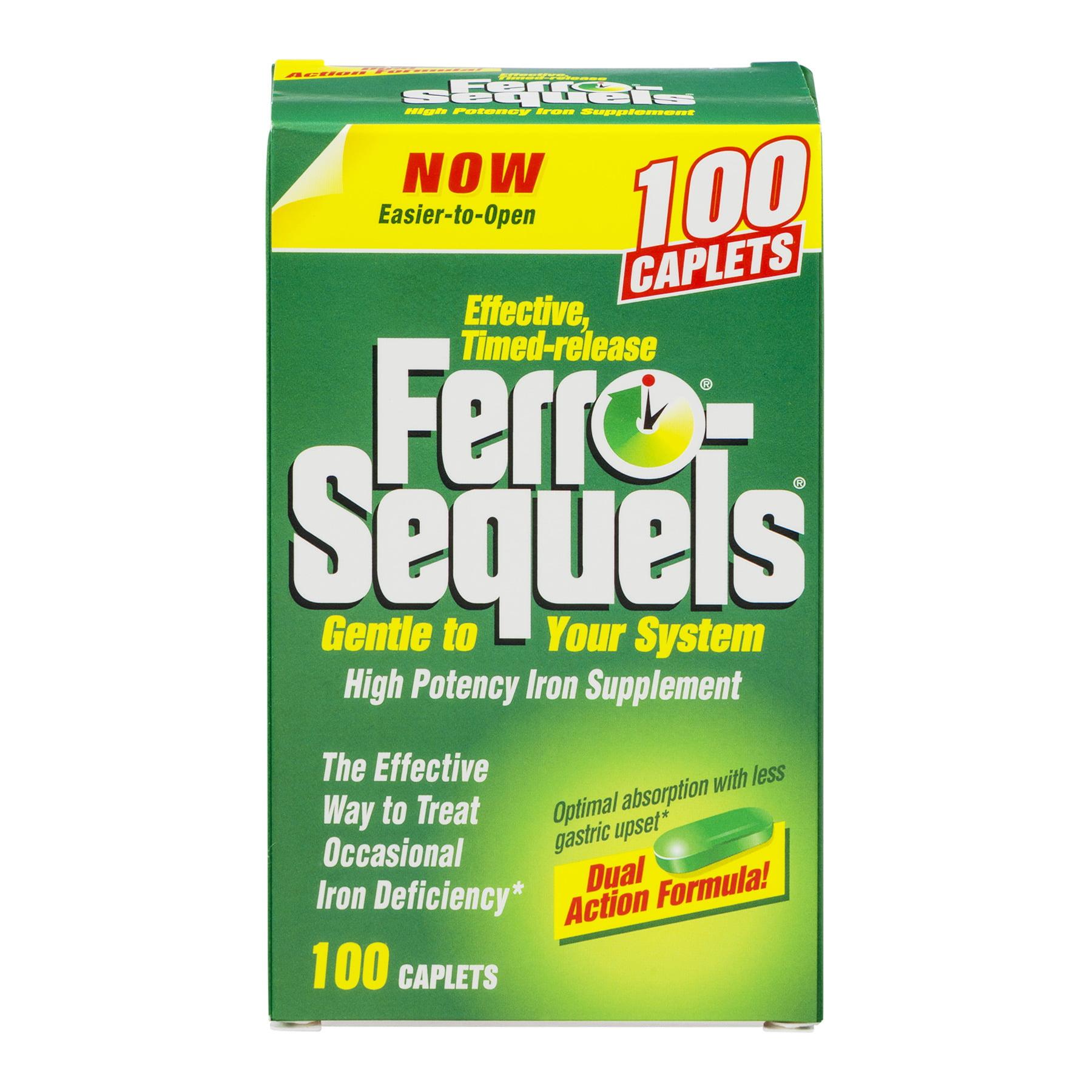 Ferro-Sequels High Potency Iron Supplement - 100 CT100.0 CT