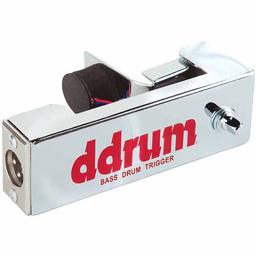 ddrum Chrome Elite Bass Drum Trigger by ddrum