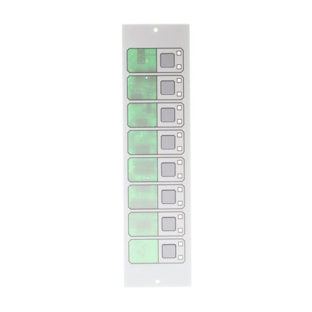 EST 2-16Y8S 8-Switch W/ 16-Yellow LED Front Panel Annunciator Module