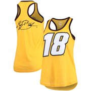 Kyle Busch G-III 4Her by Carl Banks Women's Tater Tank Top - Yellow