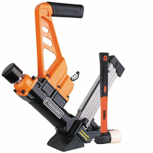 Freeman PDX50C Lightweight Pneumatic 3-in-1 Flooring Nailer & Stapler