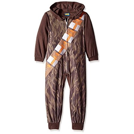 Star Wars Little Boys Chewbacca Sleeper Blanket Pajamas,Multi,8 (Chewbacca Onesies)