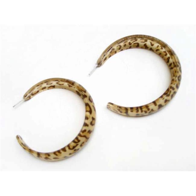 Alur Jewelry 16355LL Animal Print Earrings