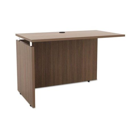 Alera SE234224WA 42 x 23.62 x 29.5 in. Sedina Series Reversible Return & Bridge, Walnut