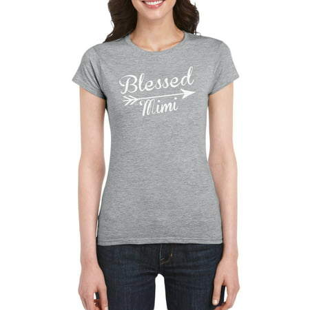 Blessed Mimi T Shirt Gift Idea For Women
