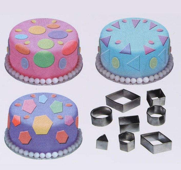 Stainless Steel Cookies Cutter Biscuit Fondant Cake Mould Mold DIY Kitchen Tool