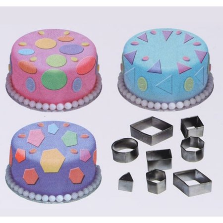 Zerone 24Pcs Stainless Steel Cookie Cutting Mold Kitchen Baking Tools Fondant Cake Cutter Mold (Cutting Tools In Baking And Their Uses)