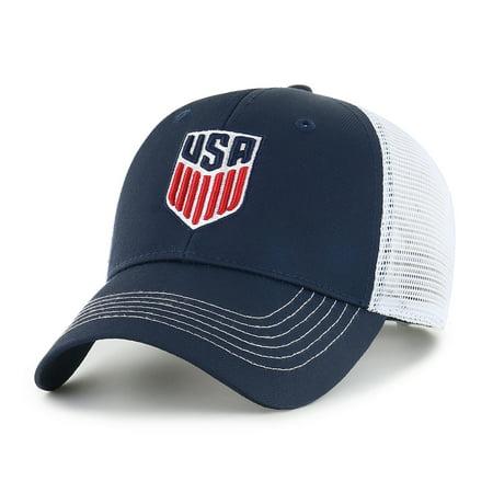fc6a0aedd68 United States Soccer Raycroft Adjustable Cap Hat by Fan Favorite -  Walmart.com