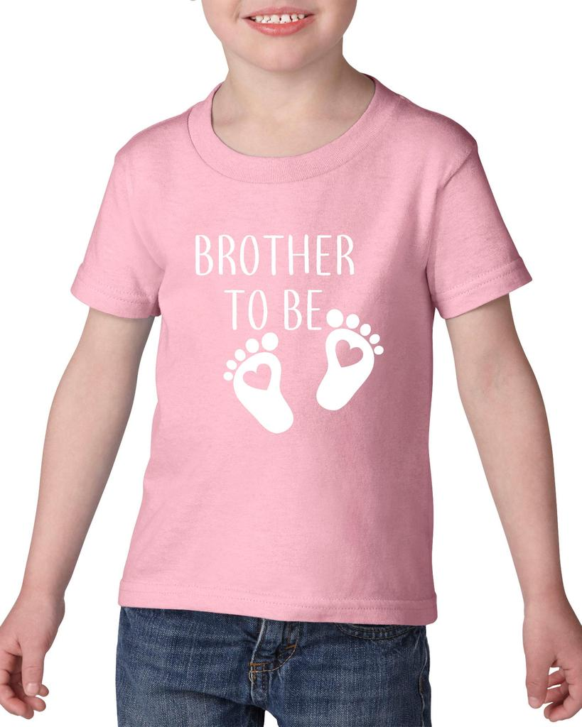 Artix Brother To Be Gift for Baby Shower New Born Birthday Christmas Party Heavy Cotton Toddler Kids T-Shirt Tee Clothing