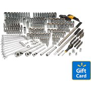 Bostitch 246-Piece Socket/Wrench Set (1/4, 3/8, 1/2), BTMT72263 with Bonus $20 Gift Card