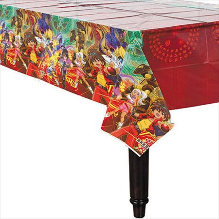 Bakugan Battle Brawlers Plastic Table Cover (1ct)