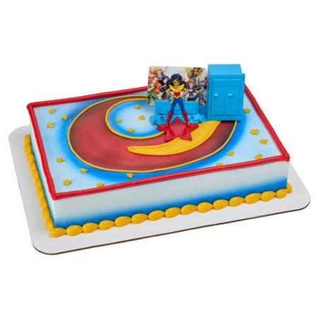 DC Super Hero Girls Move Over Boys Cake Topper