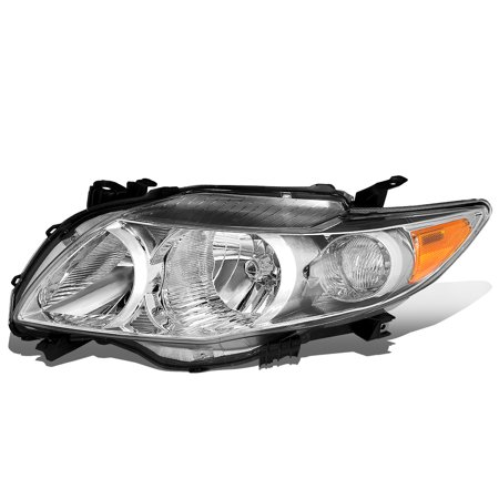 For 2009 to 2010 Toyota Corolla Left / Driver Side Factory Style Headlight Headlamp TO2502182 Toyota Corolla Left Headlight