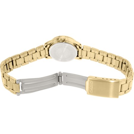Casio Women's LTPV002G-9A Gold Stainless-Steel Plated Japanese Quartz Dress Watch - image 1 of 3